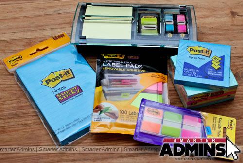 Win a $60 Post-it Note prize pack courtesy of our friends at 3M