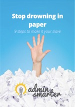 Admin Smarter EBOOK Stop drowning in paper 150w